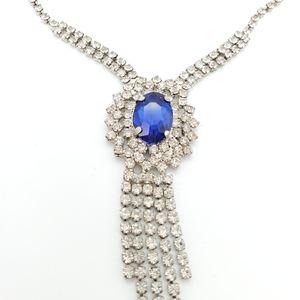 Bling formal necklace